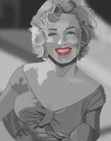 Marilyn Monroe by JillySB