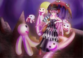 Perona the Ghost Girl by crimson-grizzly