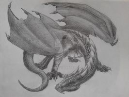 The ironclad dragon by Behane