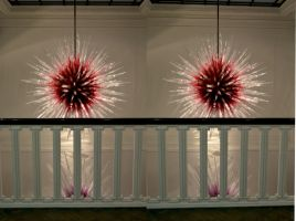 Halcyon Chihulii Virus Model In Blown Glass by aegiandyad