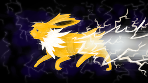 Jolteon - Wild Charge by Alouncara