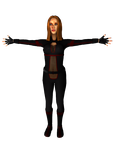Scarlet - lowpoly static by deant01