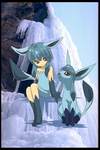 Glaceon by CHARIZARD110011