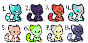 Chibi Kittens! Just 4pts each! by DailyAdoptables