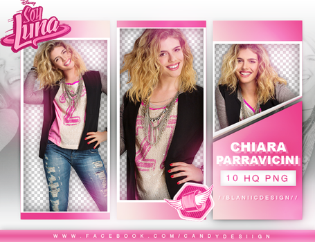 (Soy Luna) Chiara Parravicini - png pack #62 by BlaniicDesign