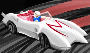 Speed Racer by anotherartgeek
