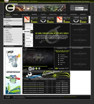 MyGameTemplates: Home Page by JereKel