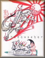 Okami Ammy's new Weapon by ShadowSaber