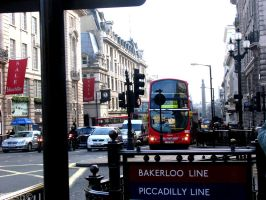Bakerloo by Bus by Sikthy-Mish