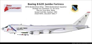 Boeing B-62D Jumbo Fortress by db120