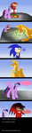 MLP and Sonic P9 by penguin04
