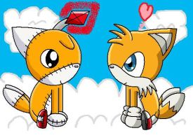 Cute Tails And Tails Doll by pokemonlpsfan