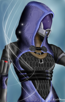 Tali'Zorah - Spirits Updated by KissOfMoon