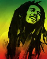 One Love - Bob Marley by yorkey-sa