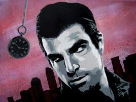Sylar Painting by Gcrackle1