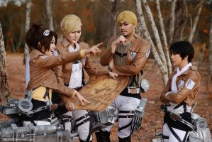 Attack on Titan - Expedition Team by vaxzone