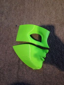 Animegao mask print 1 (work in progress) by thomps4991