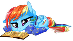 Late Night Reading by KittehKatBar
