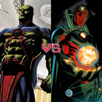 Death Battle idea: Manhunter vs the Vision by ItemShoplifter