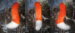 2 tone fox/canine tail for sale by HVC333