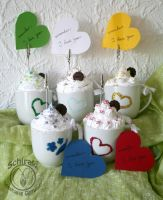 Sweet cups of....note holders :) by Schiraki