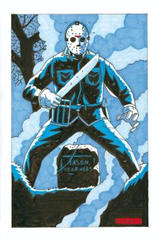 JASON MARKERs by future-parker