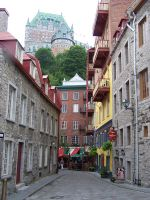 Street In Old Quebec by MidnightsDream