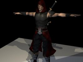 Assassin T-pose by Cirker