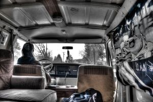 In van HDR by jverm