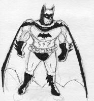 Caped Crusader by ADHadh