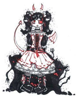 ++ Little Devil ++ by GothicMary-Chan