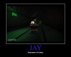 Jay -running by Lincelot1