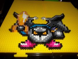 Metaknight Perler by Libbyseay