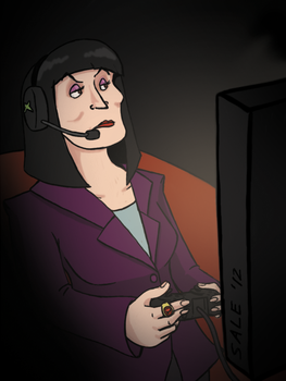 Gamer Eileen by PerfectFourth