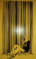 barcode yellow by markfrancis