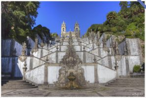 Sanctuaire Bom Jesus Do Monte - Escalier by maccafan21