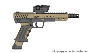 Raiju assault pistol by Robbe25