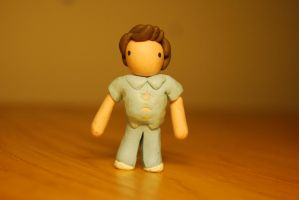 bob fossil plasticine figure by olive-happy