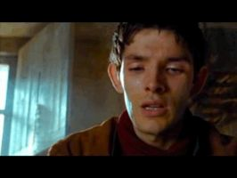 Merlin crying... by MagicalPictureMaker