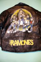 Ramones Custom Jacket Back by RabidBallerina