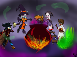 Halloween's magic by Gi203