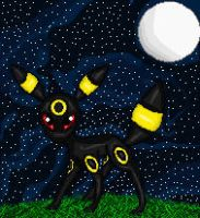 Umbreon by Pumpkin-Cannon