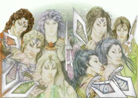 Feanor and sons by marisoly