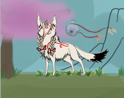 The true Amami Amaterasu by GinMcSquishy