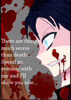 Lets play a game.. ::Slaughter Collab:: .my part.. by ViridiVulpes
