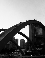 Nathan Phillip's Square: II by tigerlily88