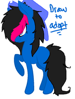 Draw to adopt! Closed by xCurlygoRawwrz