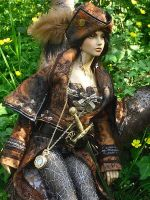 Robina hood in the wood 12 by aloiVViola