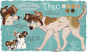 Theo Ref- Commission by Deesney