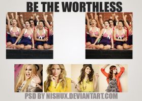 Be The Worthless PSD. by nishux